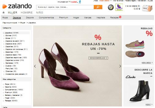 zalando zapatos mujer