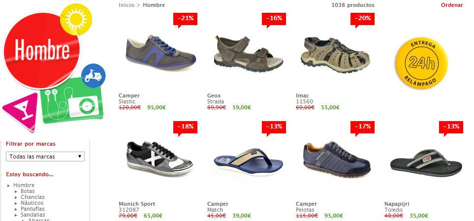 shopiteca zapatos de hombre
