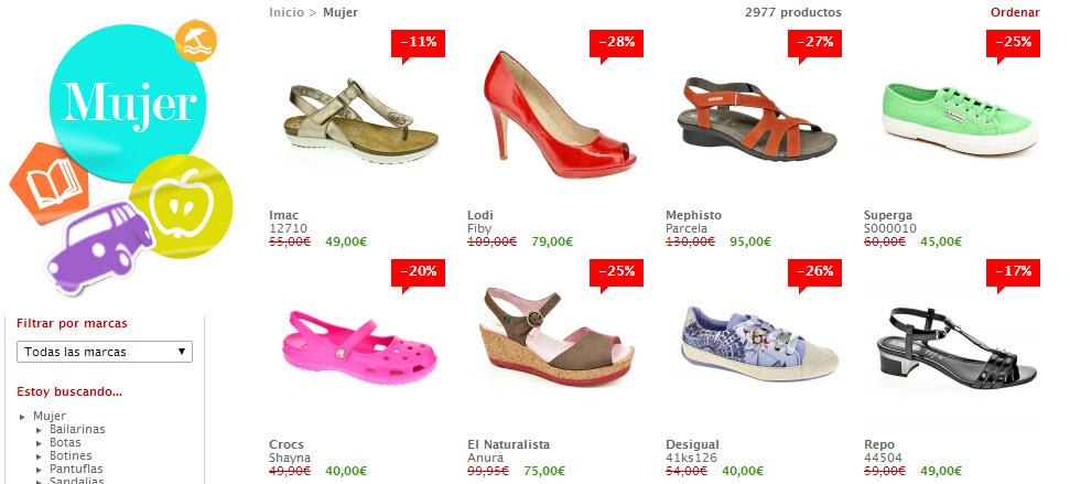 shopiteca zapatos de mujer