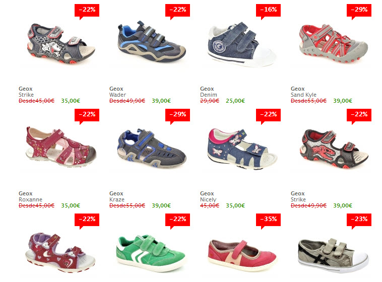 shopiteca zapatos de niños