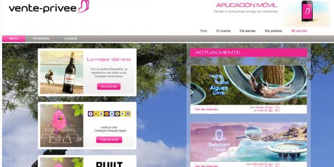 Venteprivee España: opiniones del portal de ventas privadas