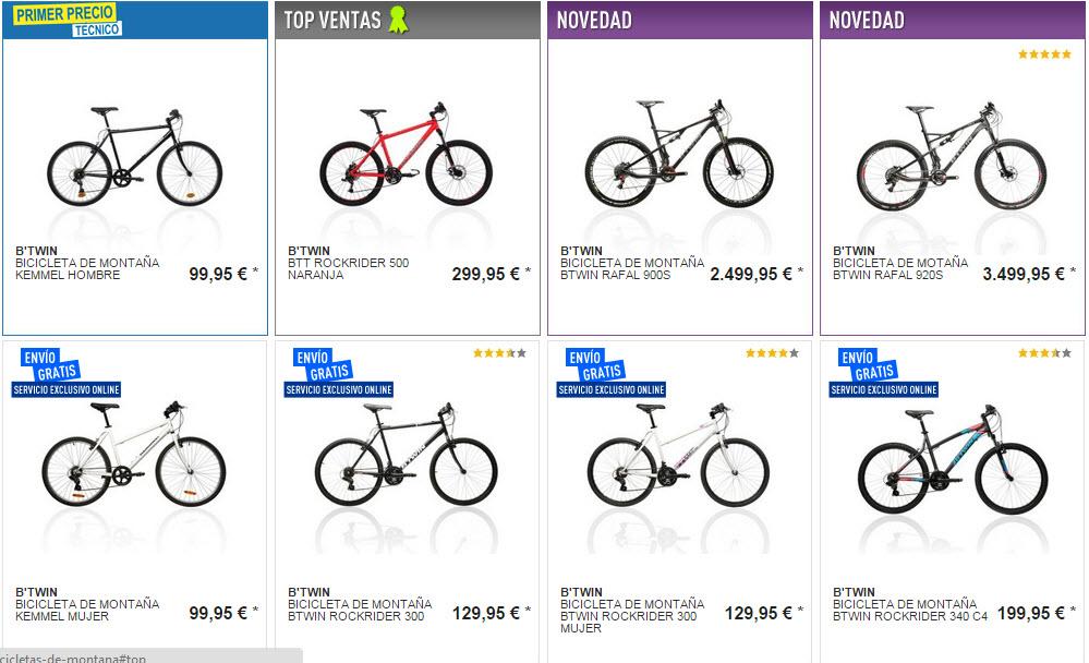 bicicletas Decathlon opiniones