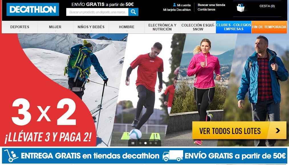 a8418ccf7 Decathlon online 2014  opiniones de su ropa deportiva