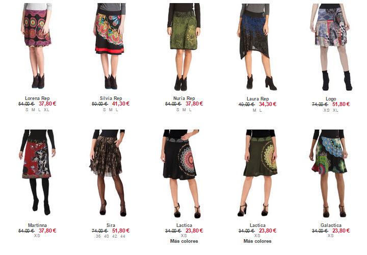 desigual faldas outlet