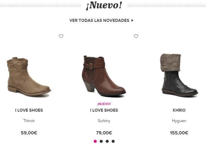 sarenza zapatos de mujer