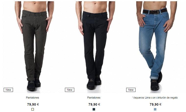 salsa jeans hombre