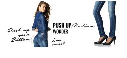 salsa jeans push up wonder