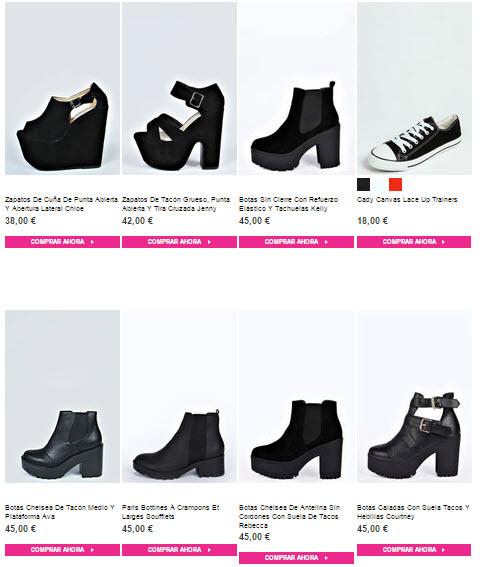 boohoo shoes zapatos