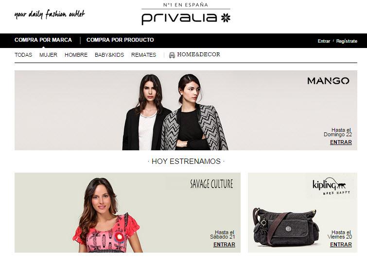 mejores portales de ventas privadas 2015