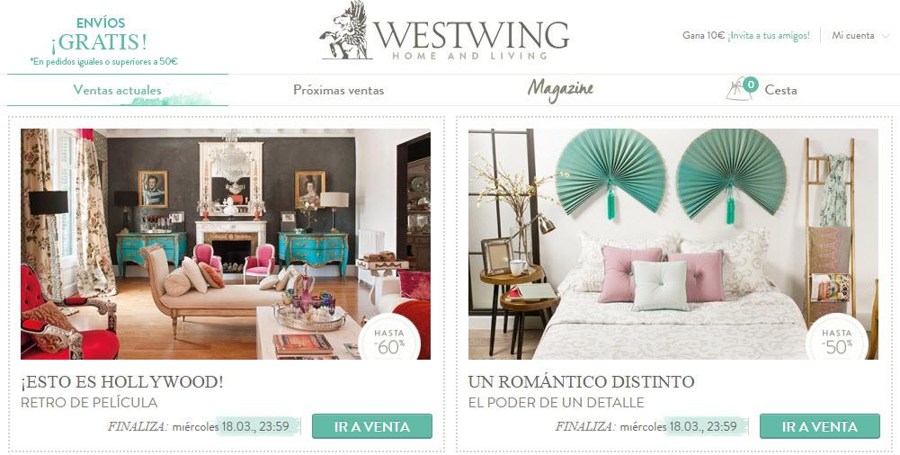 Westing opiniones sobre el portal de decoracion online for Westwing telefono