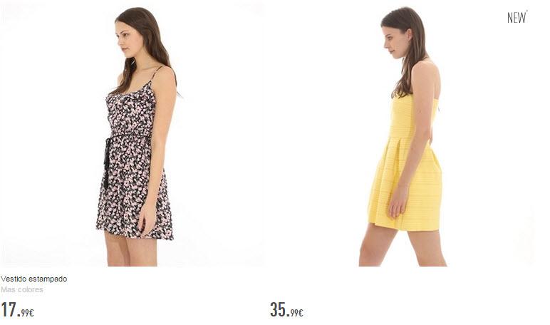 pmkie vestidos cortos