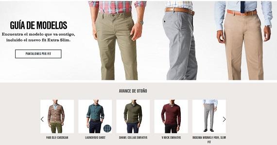 Dockers pantalones hombre