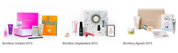 Birchbox caja de belleza