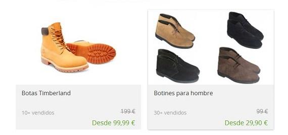 Groupon zapatillas y zapatos