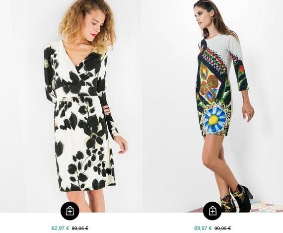 Rebajas Desigual 2016 ropa mujer