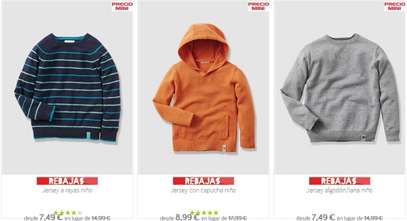 Rebajas Vert Baudet 2016 moda infantil