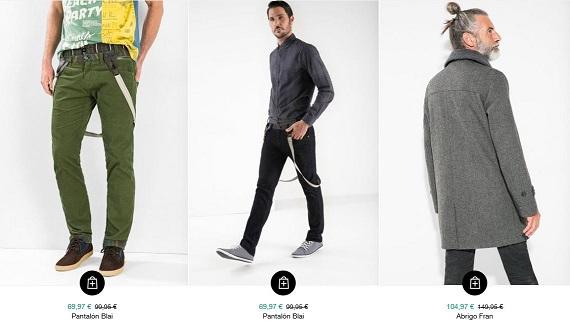rebajas desigual 2016 ropa hombre
