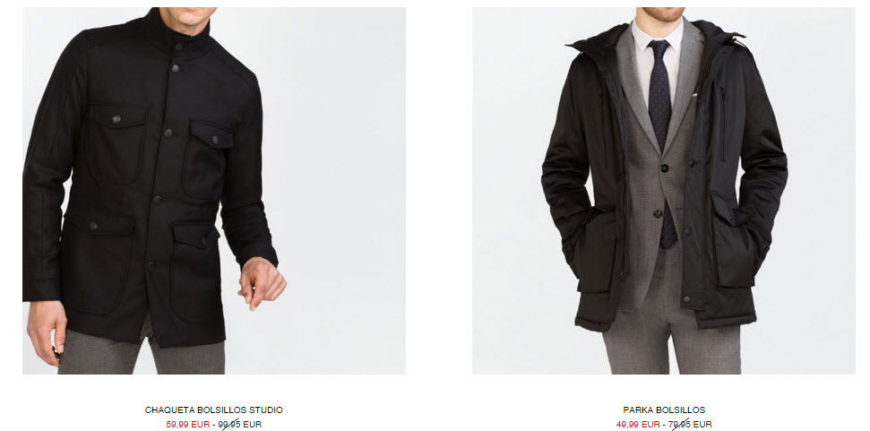 rebajas zara moda hombre 2016