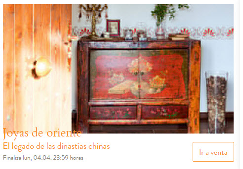 Ventas privadas de muebles y decoracion online en 2016 for Muebles y decoracion online