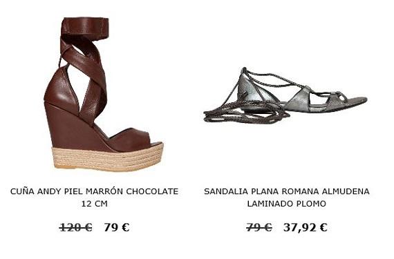 sandalias online