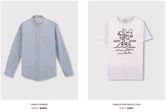 Pull and Bear hombre