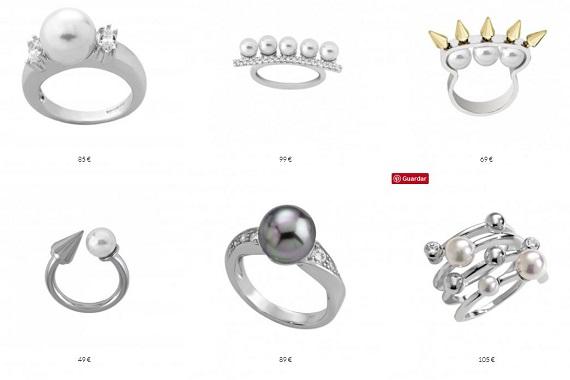 majorica anillos