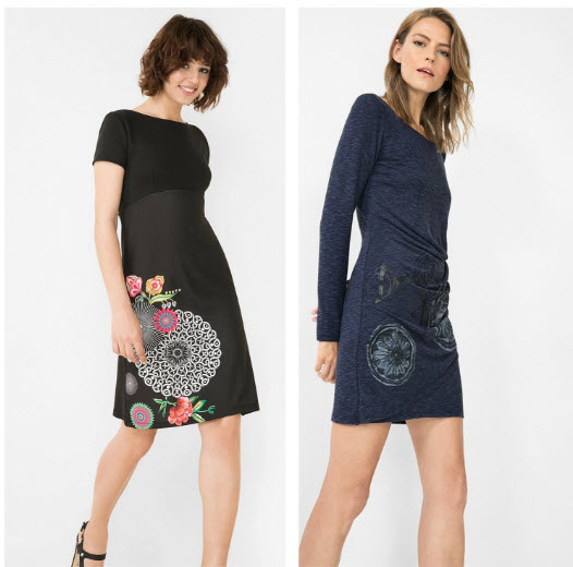 vestidos black friday desigual