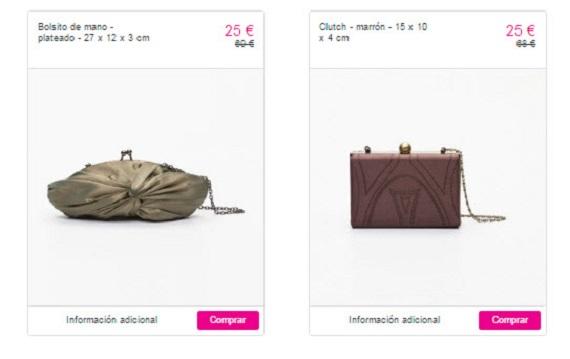 descubre las últimas tendencias última selección materiales superiores Adolfo Domínguez: outlet online de bolsos de mujer y ...