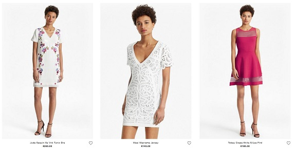 french connection vestidos
