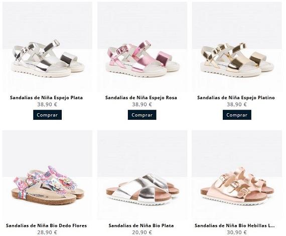 conguitos sandalias