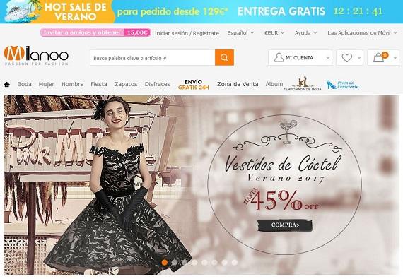 opiniones de milanoo: ropa italiana, zapatos y vestidos de fiesta