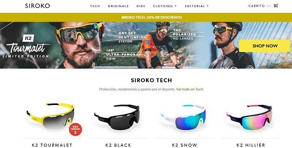 Siroko: opiniones y comentarios de las gafas de sol Tech y Originals