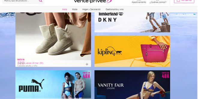 vente-privee España: ventas privadas de ropa, accesorios y marcas