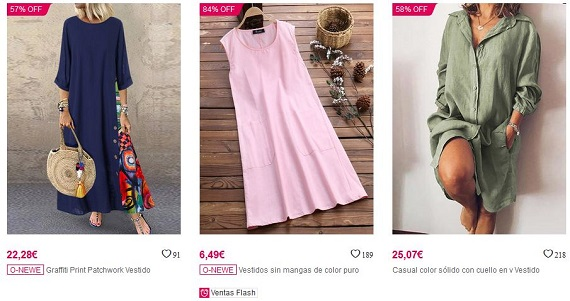 newchic vestidos